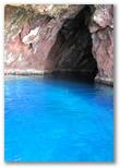 Grotta in mare presso l'Isola di Capraia
