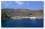 Immagini dal porto di Capraia
