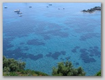 Isola d'Elba: il versante sud-ovest dell'Isola d'Elba. qui siamo nei pressi del relitto di Pomonte.