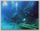 Isola d'Elba: il relitto di Pomonte. Il relitto di pomonte è adagiato a 12 metri di profondità. E' facilmente visitabile da tutti. WE' una tappa fissa per chi si immerge all'Isola D'Elba.