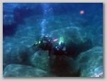 Isola d'Elba: un battesimo del mare davanti al Diving.
