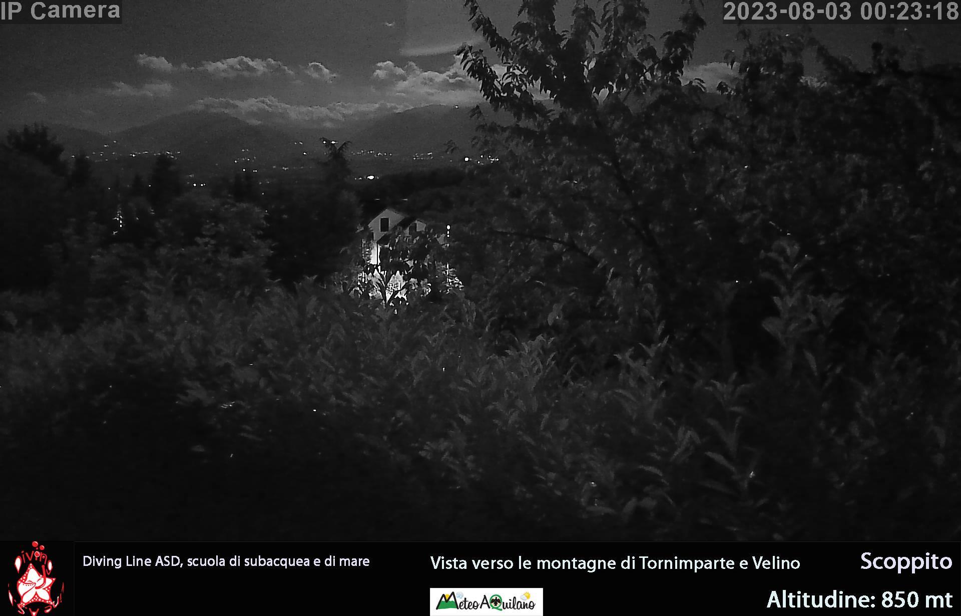 Webcam panoramica Scoppito